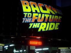BTTF:The Ride