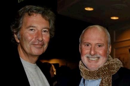 Robert Shaye (izq.) y Michael Lynne (derecha)