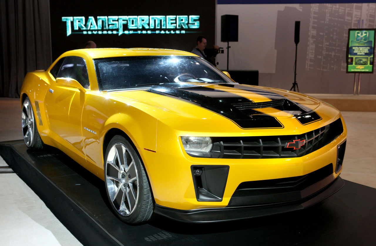 Bumblebee Transformers 1 Vs Transformers 2 Camaro5