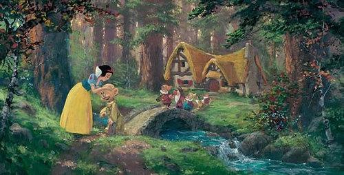 Filmclubse planea trilog a para blancanieves y los siete - Casa de blancanieves y los 7 enanitos simba ...