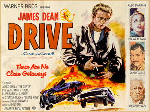 Modern Movies, Classic Posters - Drive
