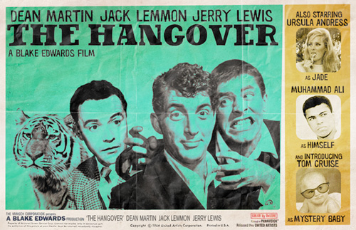 Modern Movies, Classic Posters - The Hangover