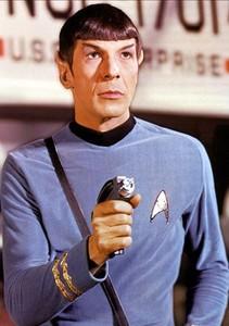 El doctor Spok (el actor Leonard Nimoy), en la serie 'Star Trek'.