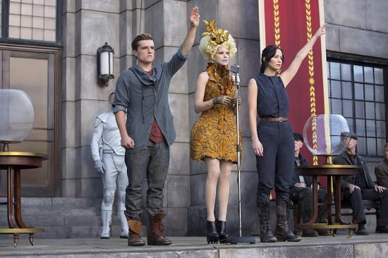 The Hunger Games Catching Fire/Los Juegos del Hambre En Llamas