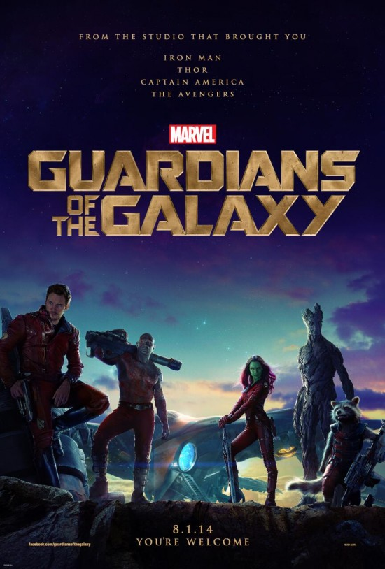 Poster Guardianes de la Galaxia