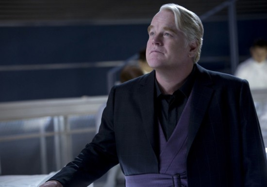 The Hunger Games Catching Fire - Philip Seymour Hoffman como Plutarch Heavensbee