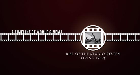 Historia temporal del cine mundial