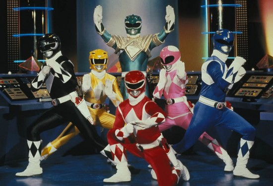 peli de los Power Ranger