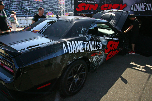 Sin City: A Dame to Kill For - Comic-Con 2014