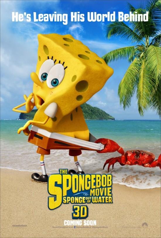 live action spongebob squarepants movie The SpongeBob Movie Sponge Out of Water poster