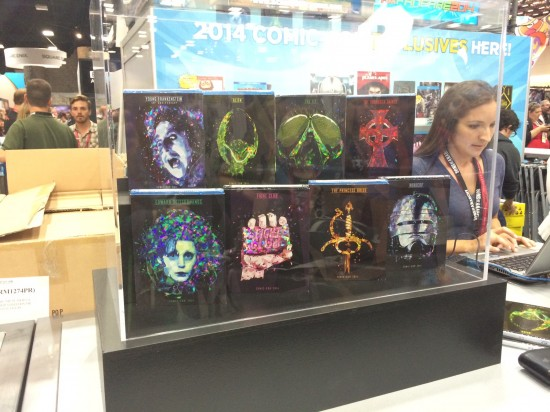 Exclusive 2014 Comic Con Blu-rays at the 20th Century Fox Booth