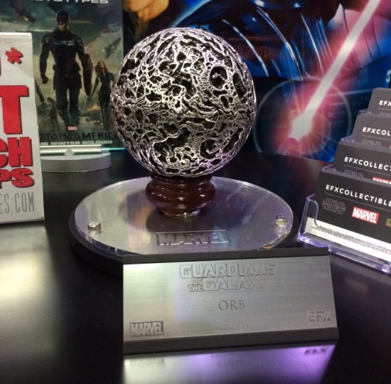 Guardians of the Galaxy replica Orb at EFX