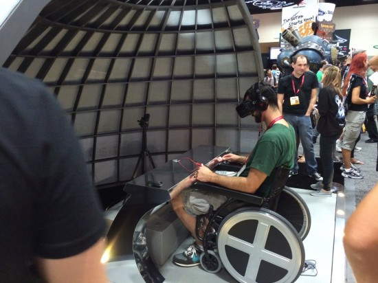 The X-Men: Days of Future Past Oculus Rift experience