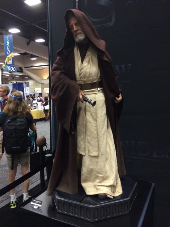 Obi-Wan Kenobi Legendary Scale Figure on display at Sideshow Collectibles