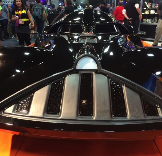 Darth Vader life-size hot wheels car