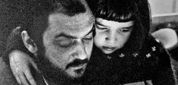 Stanley Kubrick y su hija