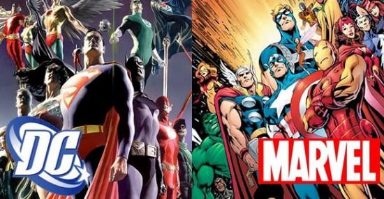 Fechas de estrenos de Marvel vs. DC
