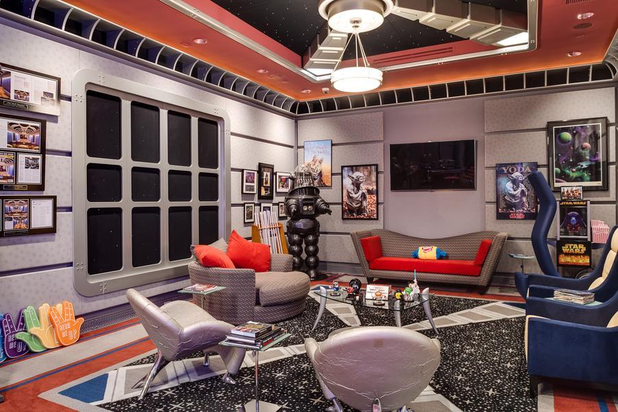 Habitación inspirada en Star Trek