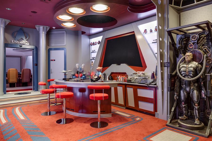 Mansión dedicada a Star Trek