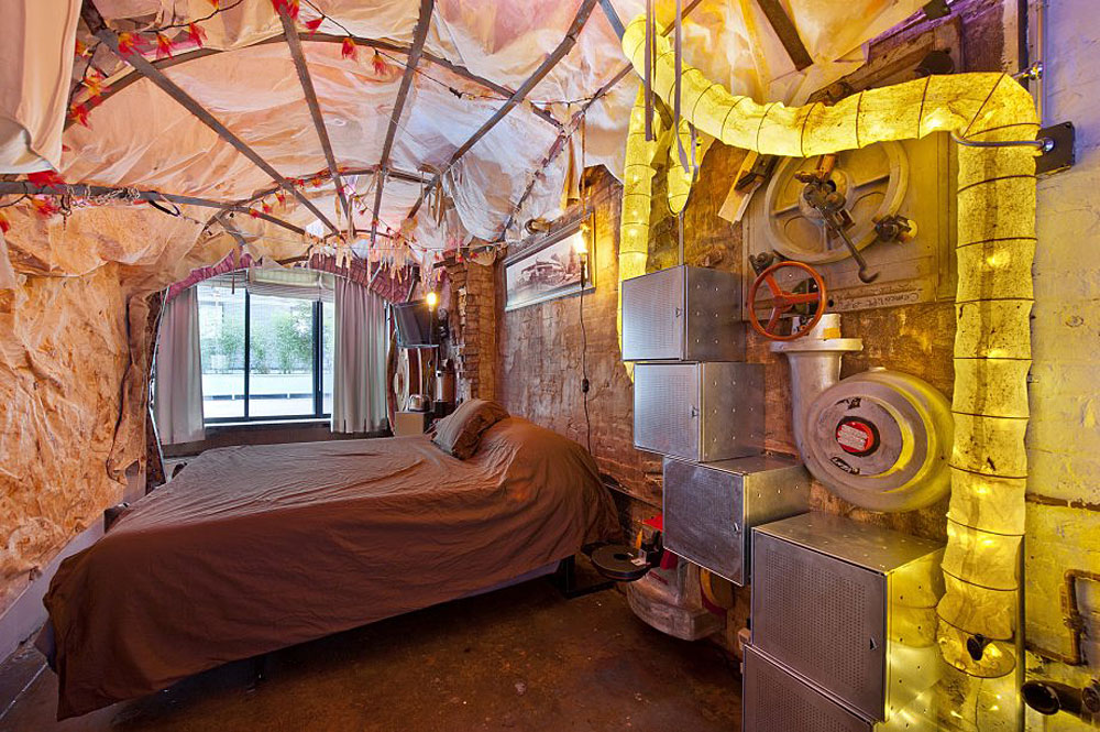 Casa Nueva York con decoración de la Brújula Dorada