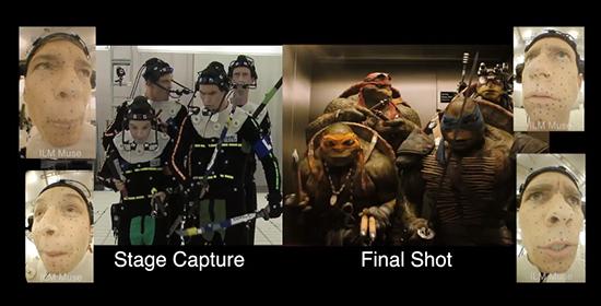 Efectos Especiales en Las Tortugas Ninja