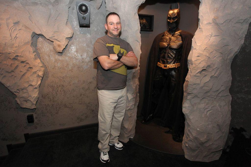 Batcueva inpirada en Batman