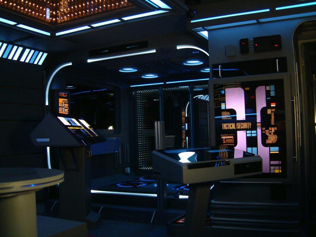 Habitación nave Enterprise