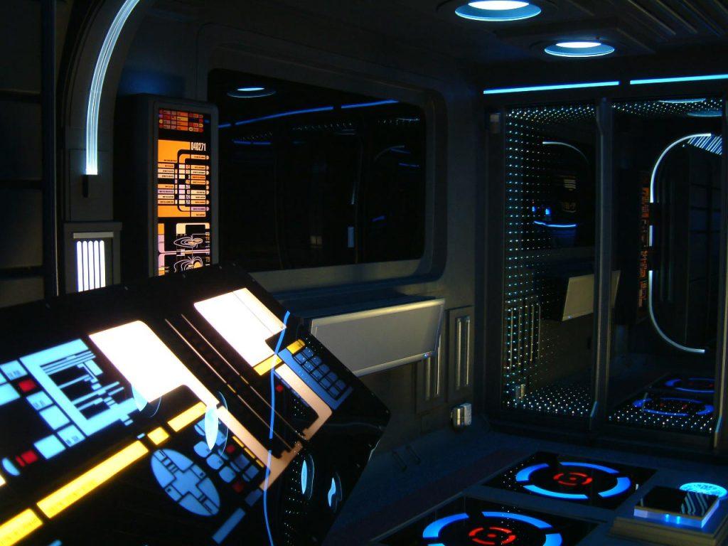 Apartamento convertido en la nave Enterprise de Star Trek