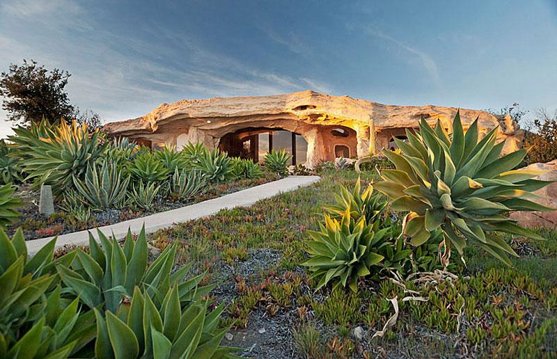 Casa inspirada en los Picapiedra