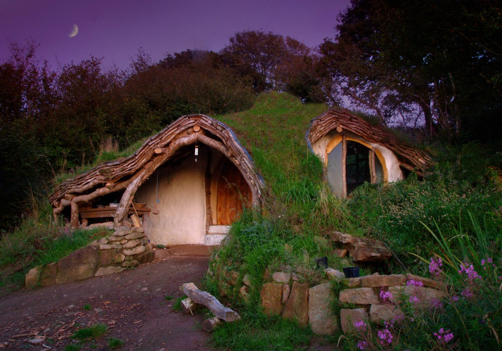 Casa inspirada en el Hobbit