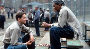 Tim Robbins y Morgan Freeman en 'Cadena Perpétua'