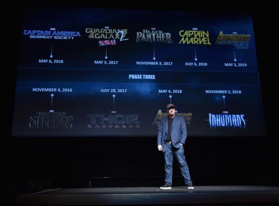 Marvel Fase 3 Kevin Feige