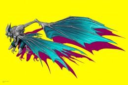 Alex Pardee - Man Bat