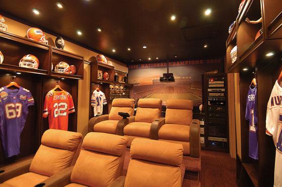Home cinema fútbol americano