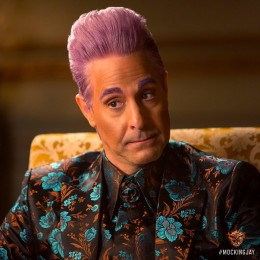 Hunger Games Mockingjay - Stanley Tucci as Caesar