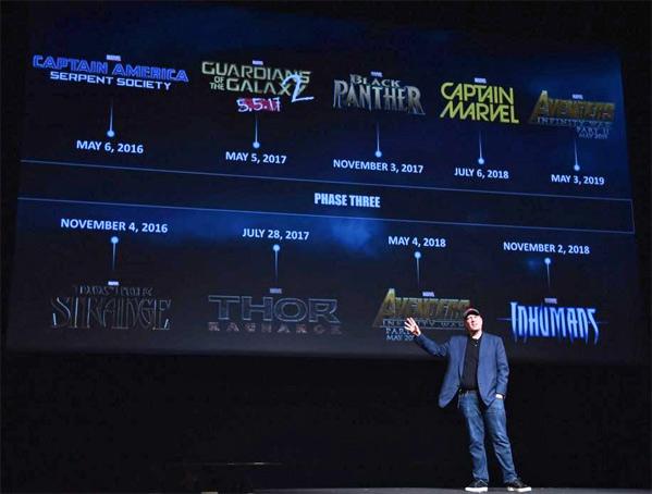 Marvel Studios Fase Tres