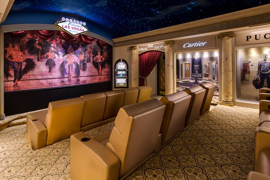 Home cinema centro comercial Las Vegas