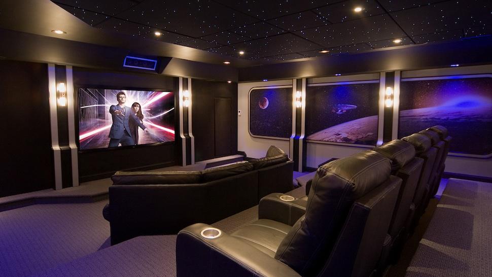 Home cinema del El Doctor Who