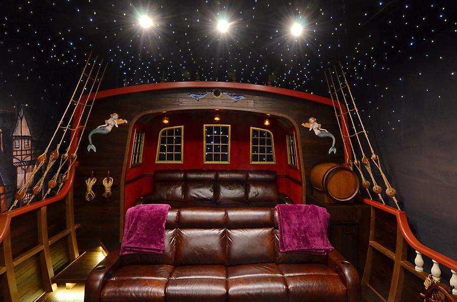 Home cinema de Piratas del Caribe