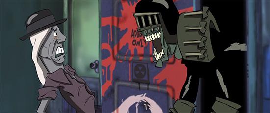 Webserie Judge Dredd Superfiend