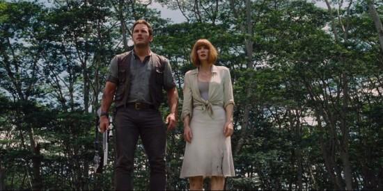 Bryce Dallas Howard Jurassic World Chris Pratt