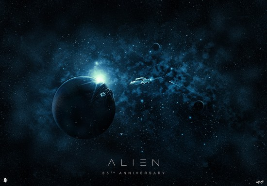 Posters Alien 35 aniversario