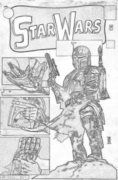 Star Wars 1 Alex Maleve Warp9 sketch