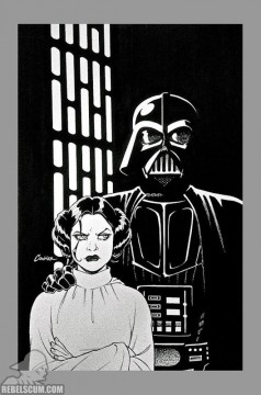 Star Wars 1 Amanda Conner Vault sketch