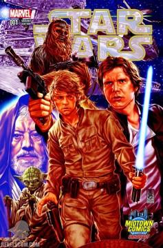 Star Wars 1 Mark Brooks Midtown Comics