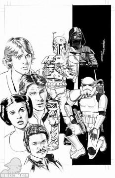Star Wars 1 Mike Meyhew Zapp BW