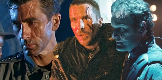 Terminator John Connor scar comparison