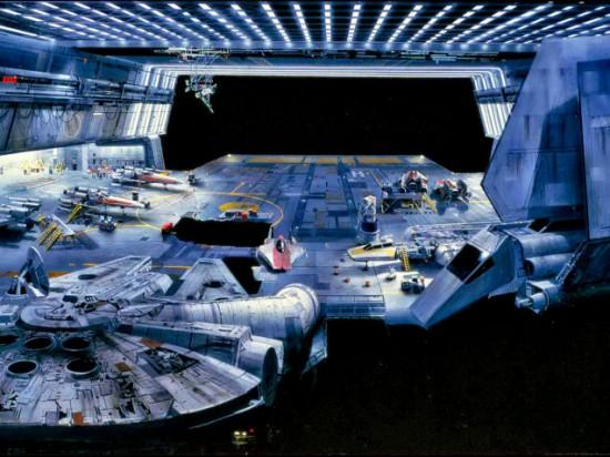 Retorno del Jedi Pintura de fondo