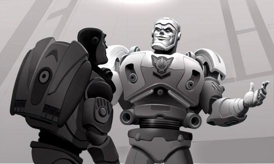 Conceptos de Toy Story 3 no usados