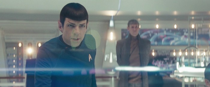 Star Trek lens flares